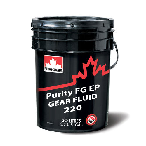 Purity FG EP Gear Fluid 220 20L PAIL