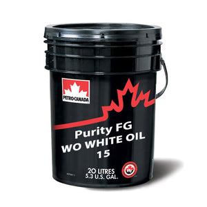 Purity FG WO WHITE OIL 15 20L PAIL