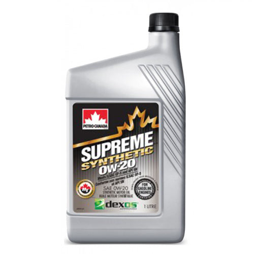 Supreme Synthetic 0W-20 12X1L CASE