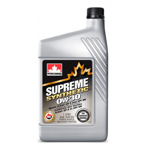 Supreme Synthetic 0W-30 12X1L CASE