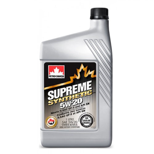 Supreme Synthetic 5W-20 12X1L CASE