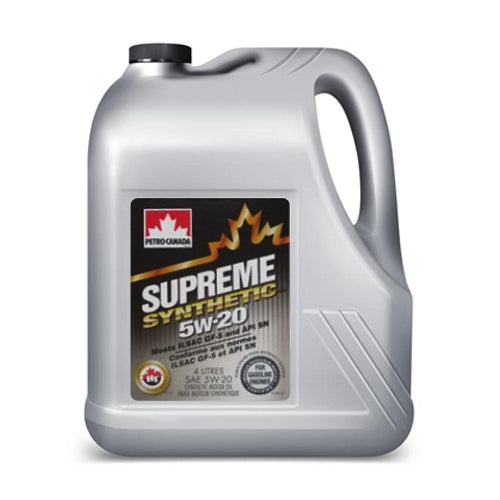 Supreme Synthetic 5W-20 4X4L CASE
