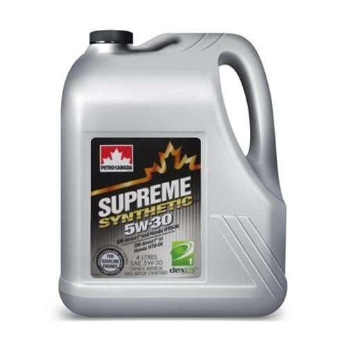 Supreme Synthetic 5W-30 4X4L CASE