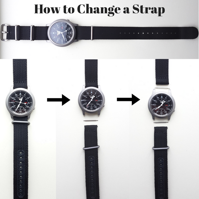 How to Change a Wrist Watch Strap