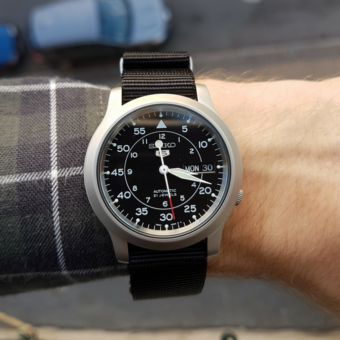 REVIEW: Seiko 5 SNK809