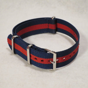 NATO Strap Navy and Red