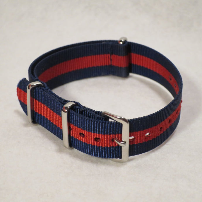 NATO Strap Navy and Red - Strap Change