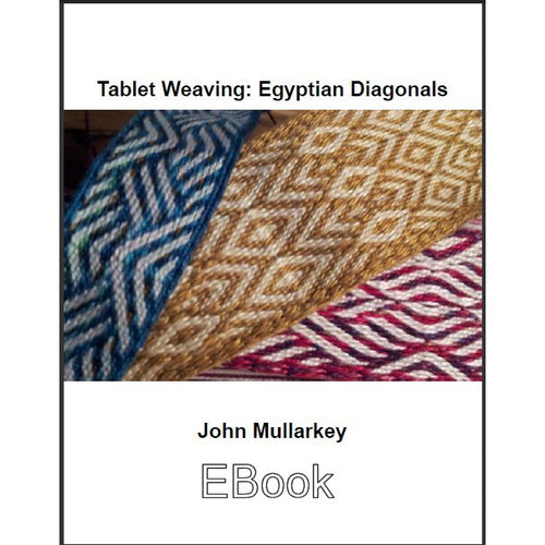 Tablet Weaving: Egyptian Diagonals EBook (pdf)