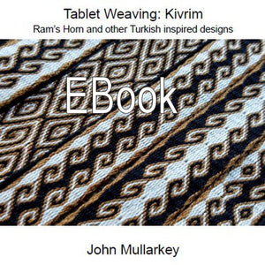 Tablet Weaving: Kivrim Ebook (pdf)