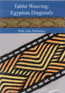 Tablet Weaving: Egyptian Diagonals DVD