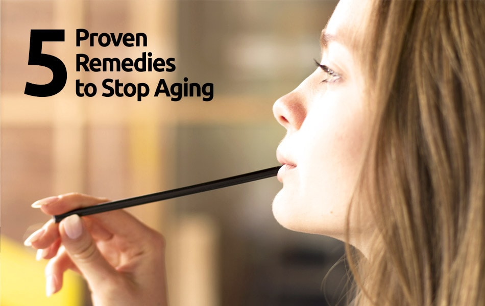 5 Proven Remedies to Stop Aging [Natural Shilajit]