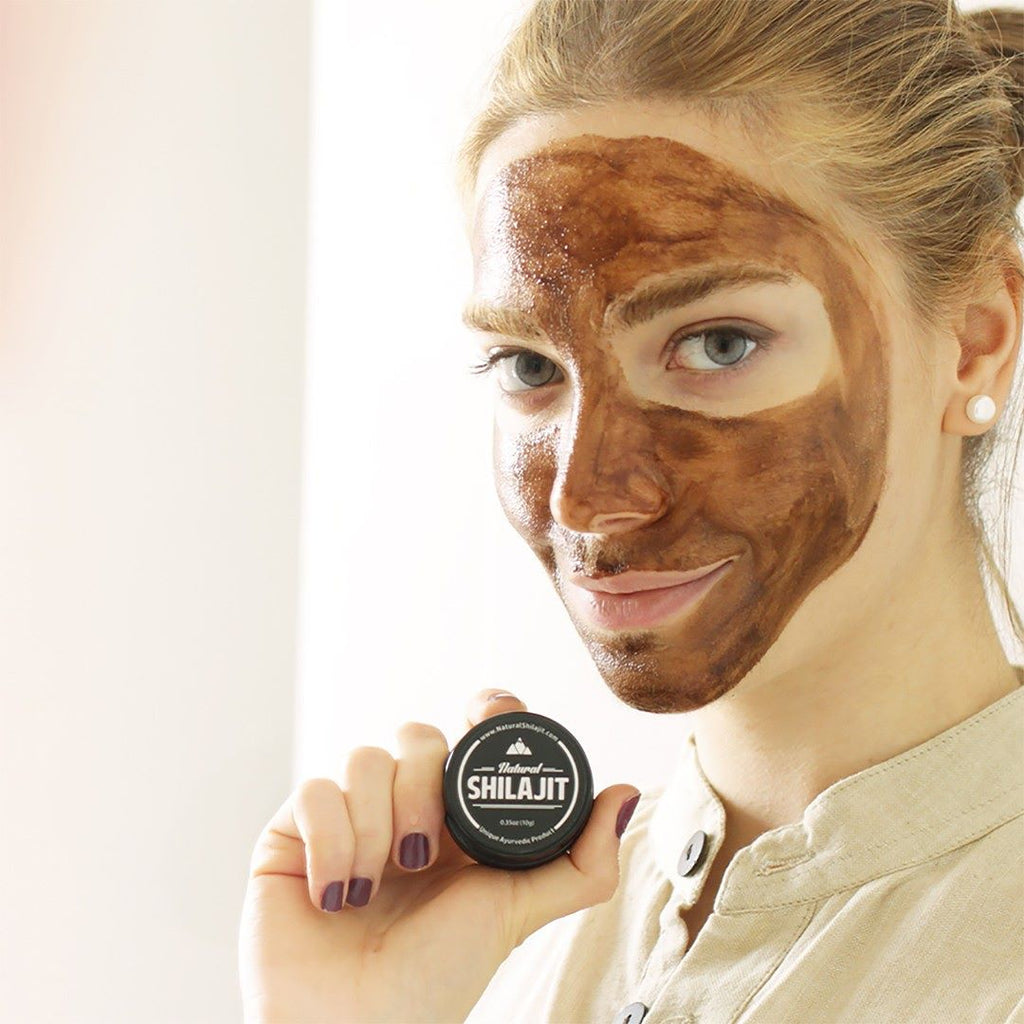 shilajit for skin