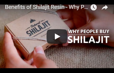 Natural Shilajit Resin