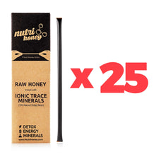 Wholesale: 25 x NutriHoney Sample (7 Sticks)