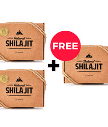Natural Shilajit Resin (20 Grams) - Buy 2 Get 1 Free