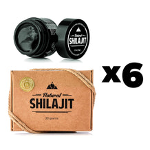 6 x Natural Shilajit Resin (Huge Savings!)