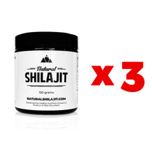 Wholesale: 3 x Natural Shilajit Resin (150 Grams)