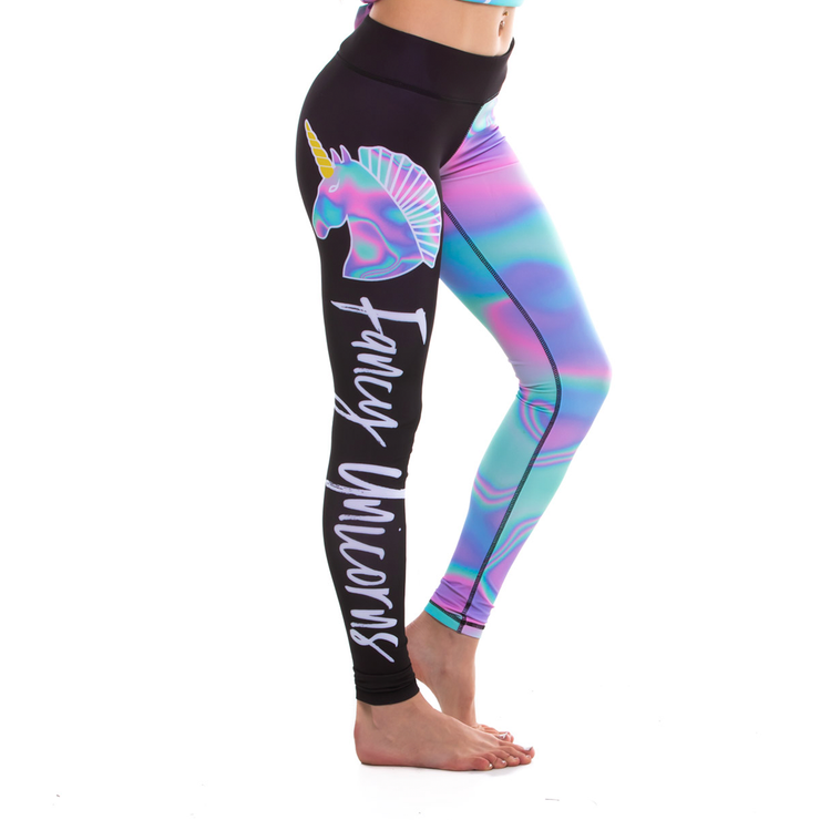 Cotton Candy Sky Leggings