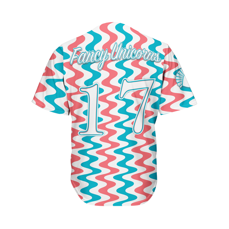 Let's Get Wavy Baseball Jersey