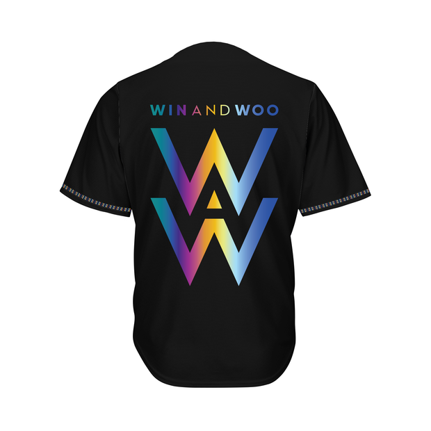 Win And Woo Baseball Jersey