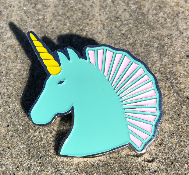 Fancy Unicorn Hat Pin