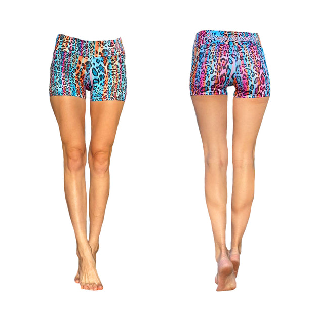 Iris Jungle Yoga Shorts