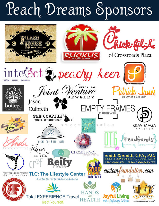 Dream Worthy Fashion Show Sponsors