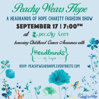 Peachy Wears Hope Charity Fashion Show