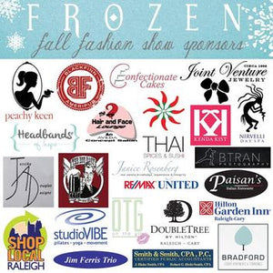Our Frosty & Fabulous Frozen Show Sponsors