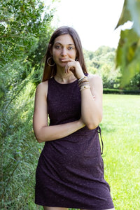 Lindsay Dress ~ Aubergine