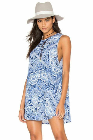 Garrett Tank dress ~ Blue Print