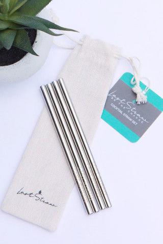 Reusable Straw Set ~ Cocktail