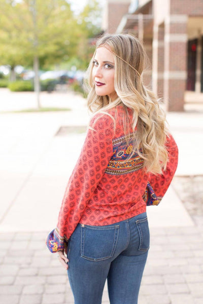 Boho Queen Top ~ Multi