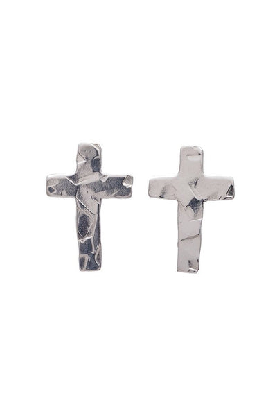 Tiny Cross Studs