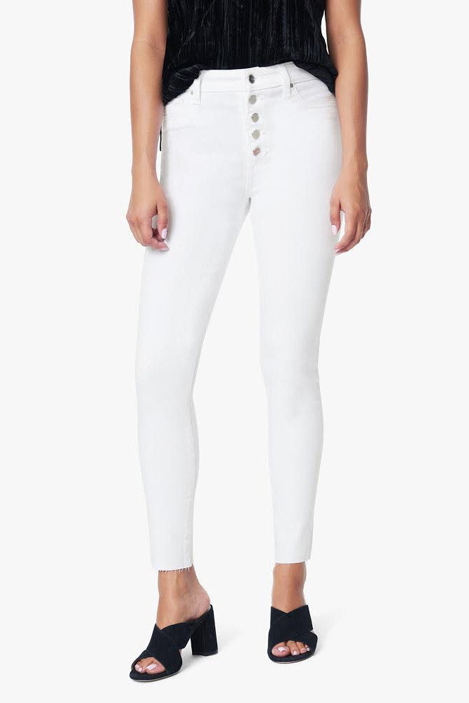 Charlie Button Fly Jeans ~ White