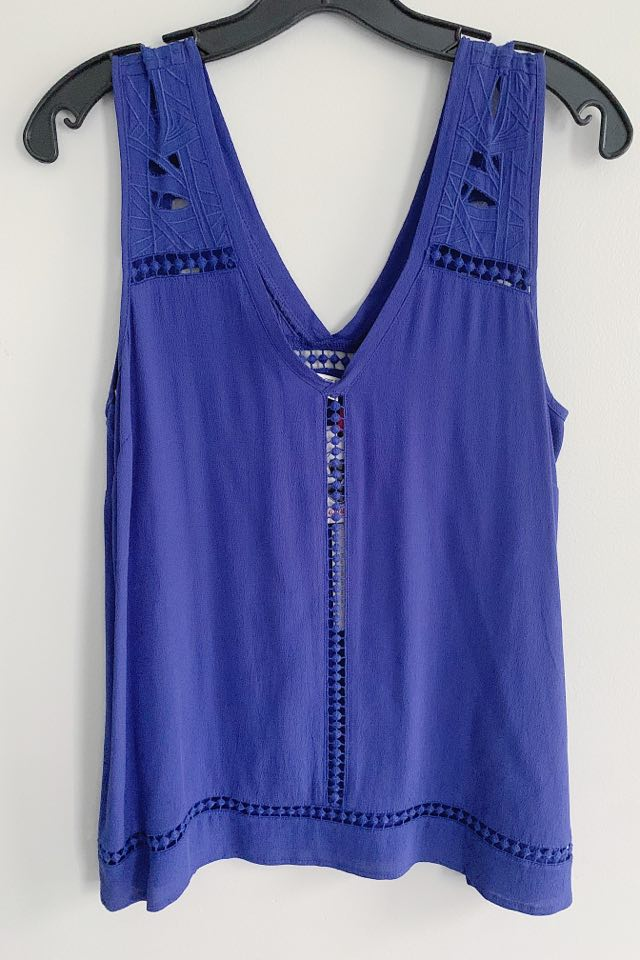 Kiara Top ~ Blue