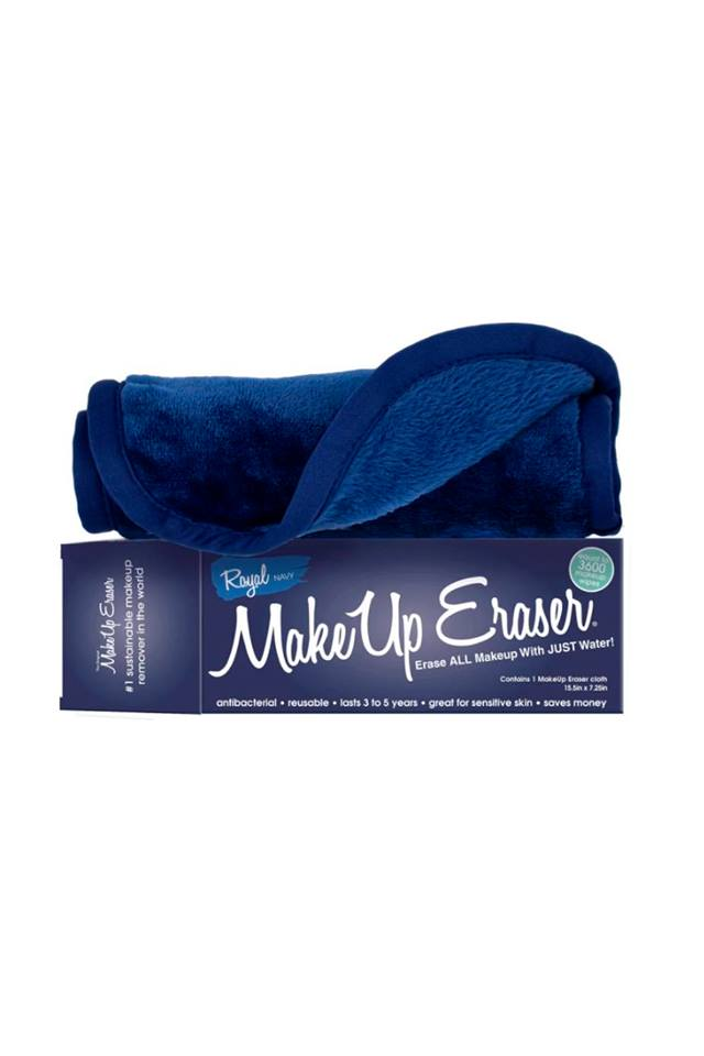 Navy MakeUp Eraser