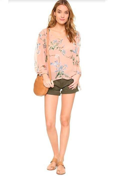Foster Relaxed Shorts ~ Olive Green