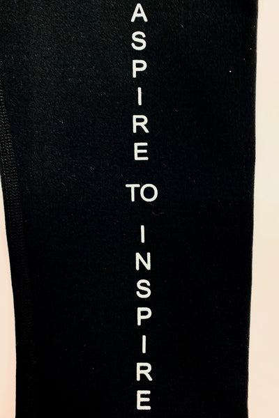 Jaelynn Aspire/Inspire Leggings ~ Black