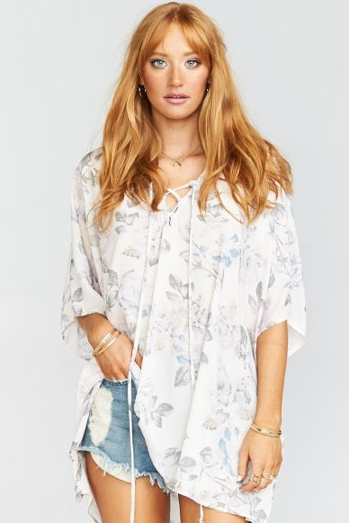 Peta Lace Up Tunic