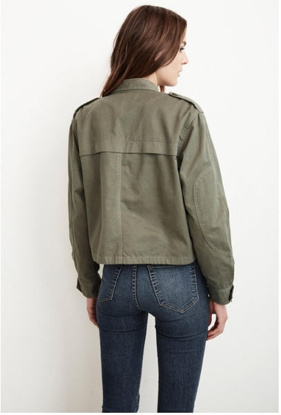 Mara Army Jacket