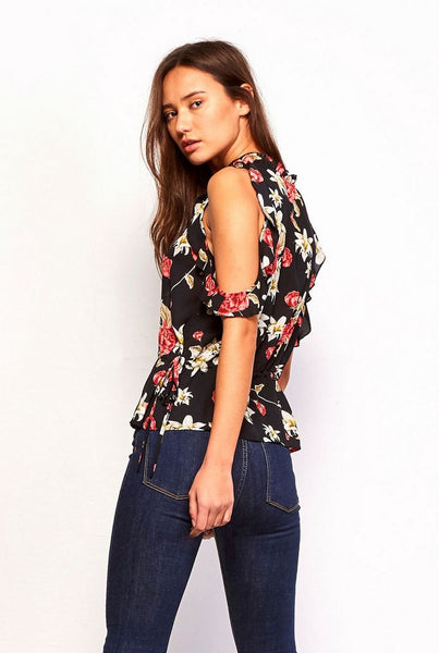 Assandra Floral Top