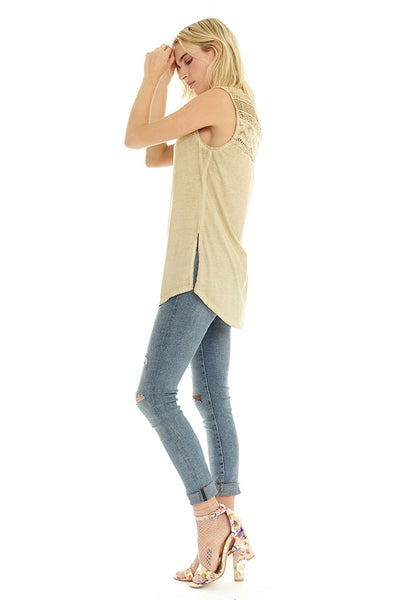 Cloud Tank Top ~ Beige