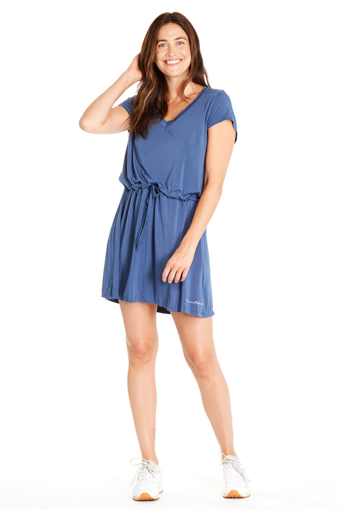 Everly Dress ~ Blue