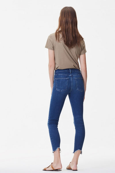 Rocket Crop High Rise Skinny ~ Frequency