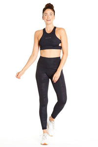 Jaelynn Legging: Move, Move, Move ~ Black