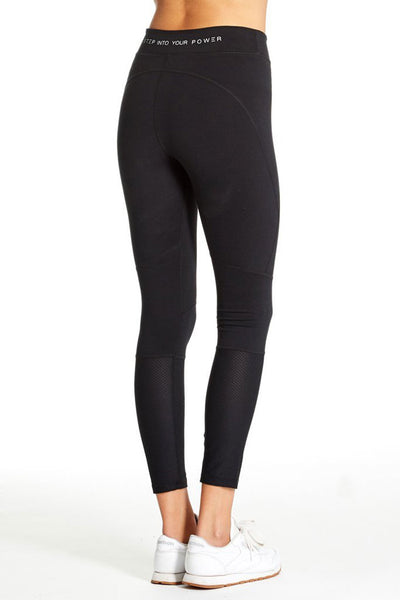 Sage Mesh Leggings ~ Black