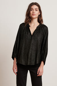 Shirley I/s Puff Top ~ Multi