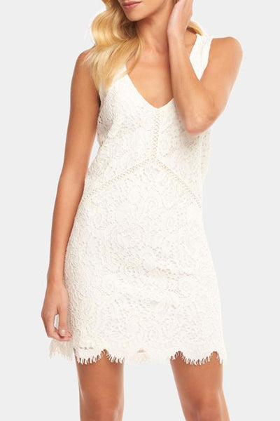 Damon Dress ~ Ivory