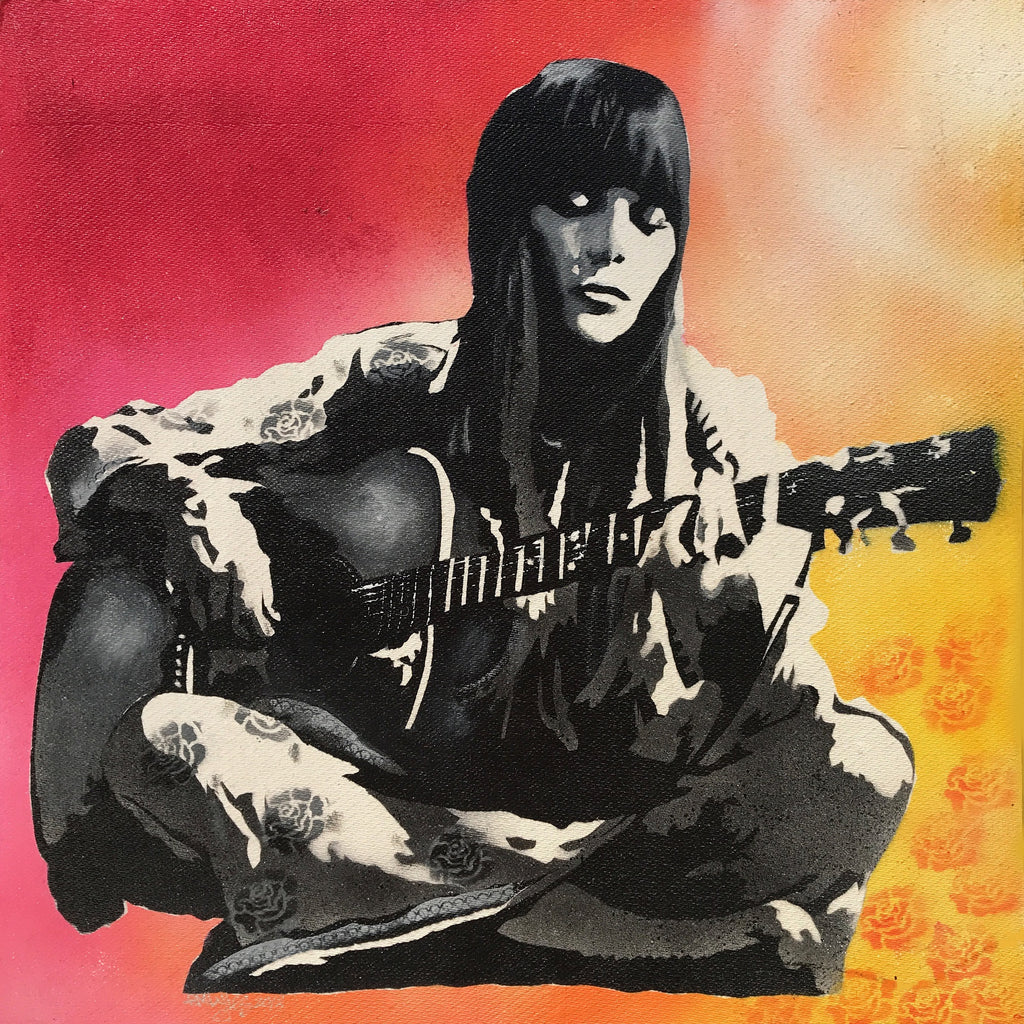 Joni Mitchell (Decorative Canvas Prints)
